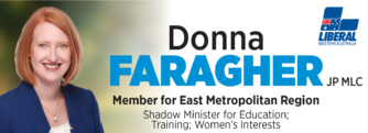 Wine Show Sponsor – Donna Faragher MLC