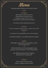 Menu released for Wine Show