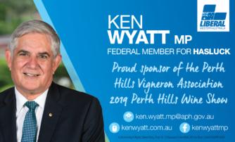 Wine Show Sponsor – Ken Wyatt MP